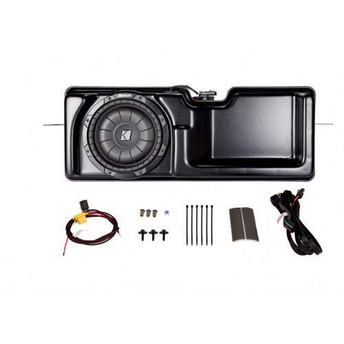 Kicker VSS Multi-Channel Amplifier and Powered Subwoofer Kit for 2013-2014 Ford F-150 Super Cab with MyFord Radio
