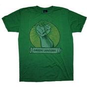 Green Lantern DC Comics Power Ring Fist Vintage Style Junk Food Soft T-Shirt Tee