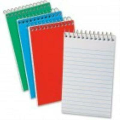 Ampad Wirebound Pocket Memo Book - 3 per pack -40 Sheets -15 lb -Narrow