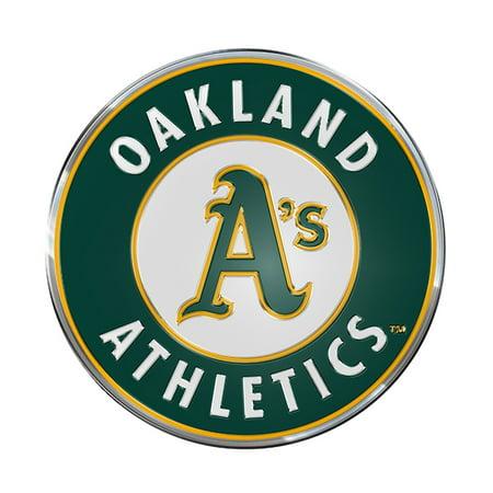 MLB Oakland A's Color Emblem (Emblem Baseball)