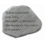 Kay Berry- Inc. 69820 When Someone You Love Becomes A Memory - Memorial - 15.5 Inches x 12.5 Inches
