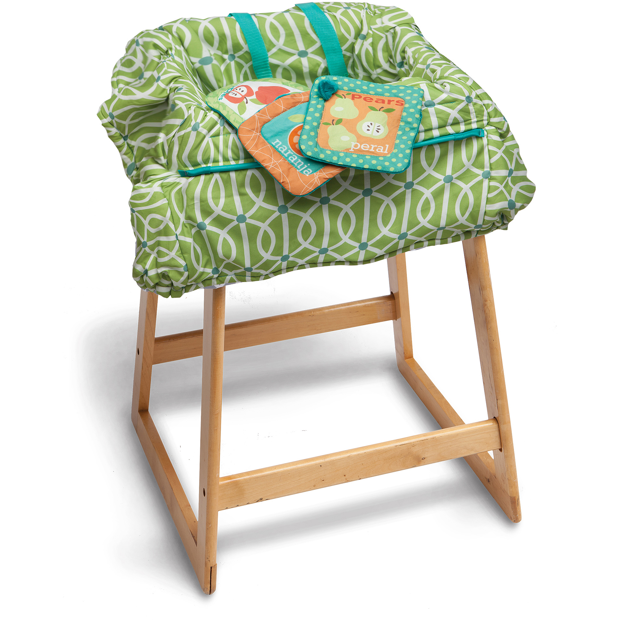 Boppy Shopping Cart Cover - Park Gate Green