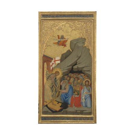 The Descent into Limbo, c.1380 Print Wall Art By Andrea Vanni