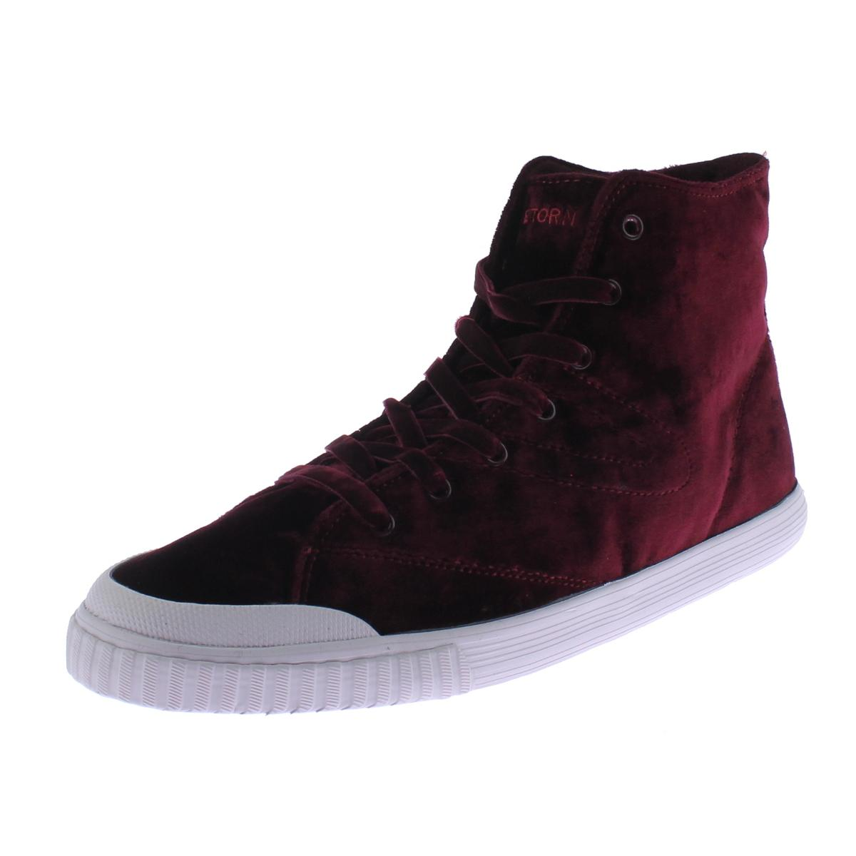 Tretorn Womens Marley 4 Velvet Casual Fashion Sneakers by Tretorn