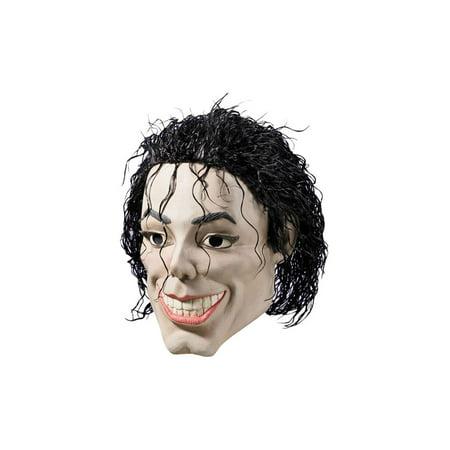 Michael Jackson Mask King Of Pop Singer Face Hair Plastic Man Halloween - Halloween Michael Myers Mask William Shatner