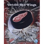 Detroit Red Wings - 2005 Logo Puck Sports Photo (8 x 10)