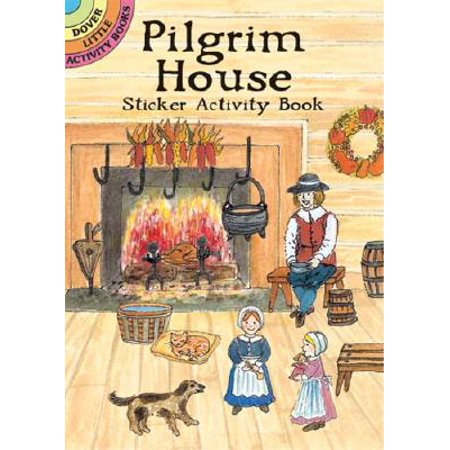 Pilgrim House Sticker Activity (House Sticker Activity Book)