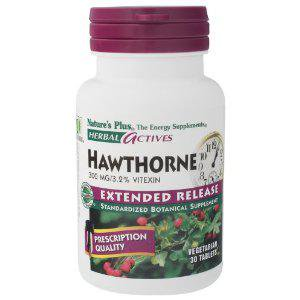 Nature's Plus - Hawthorne E/R 300 mg tab 30 (Sugar Plum Tab)