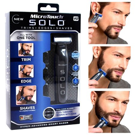 - As Seen on TV MicroTouch Solo, All-in-one Rechargable Shaver