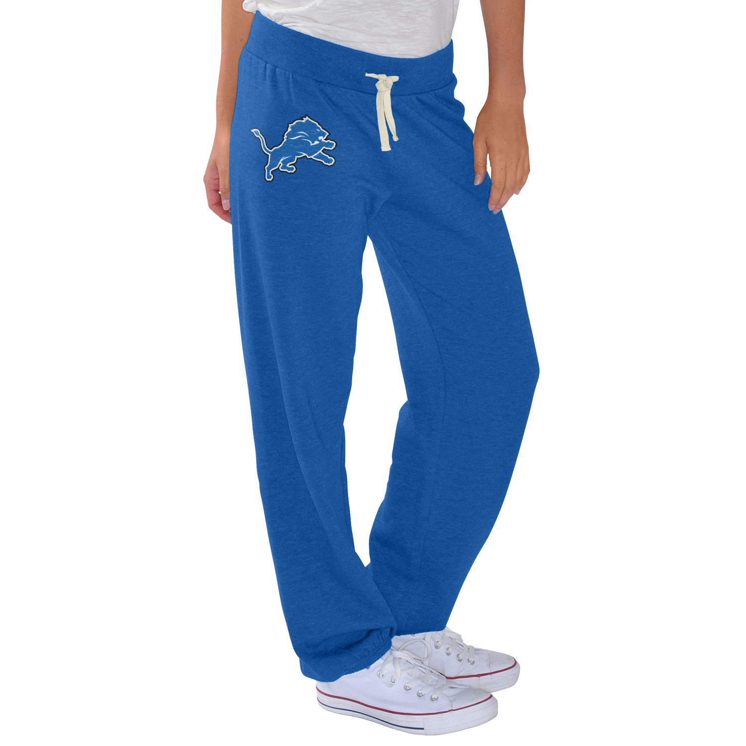 Detroit Lions G-III 4Her by Carl Banks Women's Scrimmage Pants - Blue