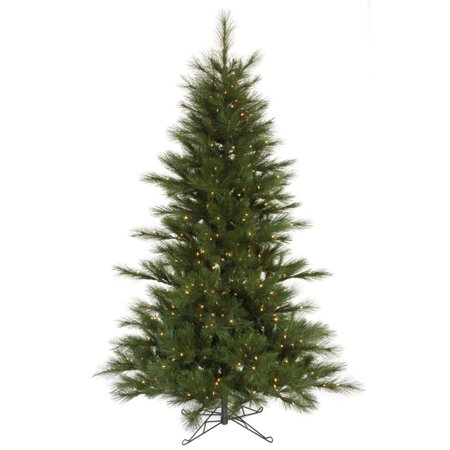 7 5 Pre Lit Scotch Pine Artificial Christmas Tree Clear Lights