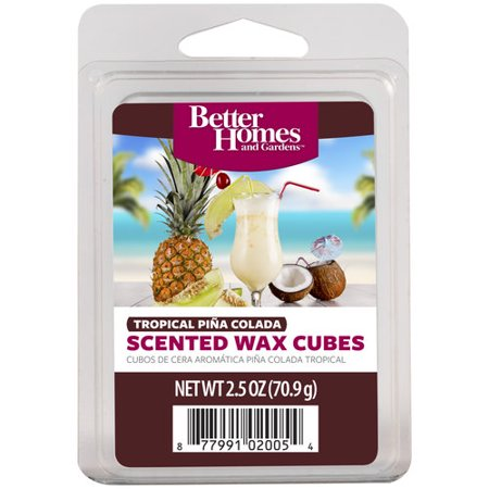 Better homes and gardens tropical pina colada fragrance cubes for Better homes and gardens wax melts