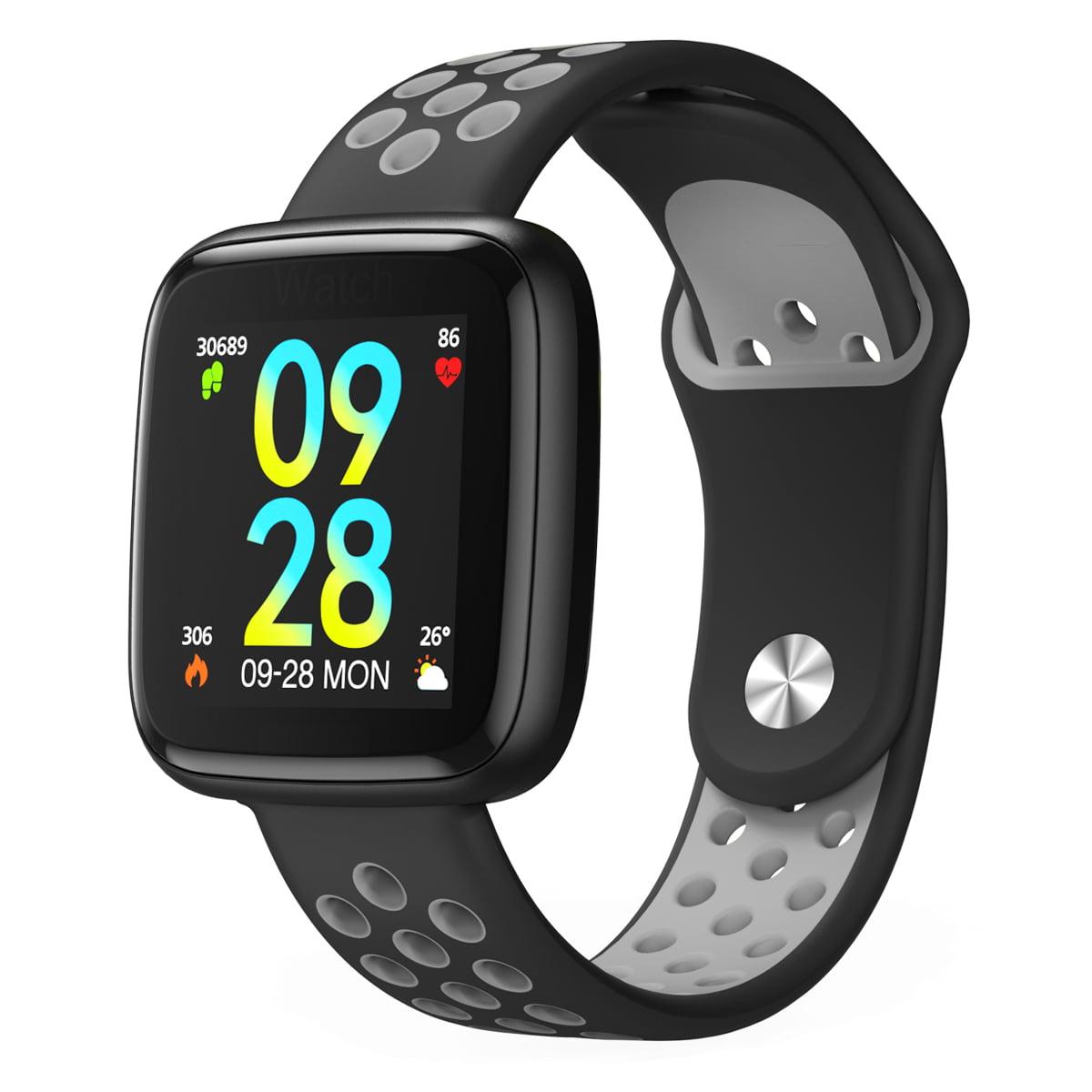 Fitness Tracker Ip68 Waterproof Activity With Heart Rate Monitor Bluetooth Multiple Sport Modes Smart Watch Wireless Bracelet Sleep