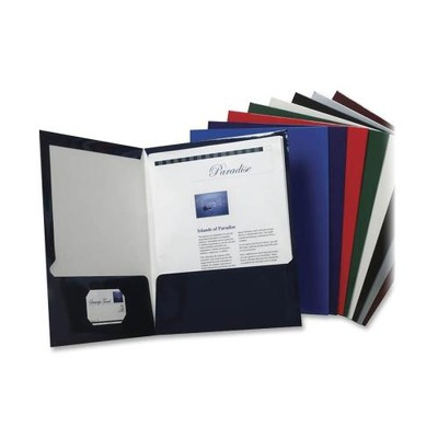 Oxford Laminated Twin Pocket Folders OXF51730