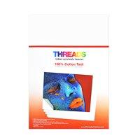 Threads Inkjet Printable Fabrics Cotton Twill 13in x 19in