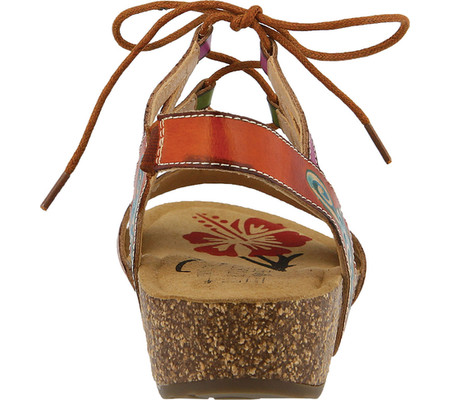 women's l'artiste by spring step loma wedge sandal