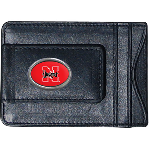 NCAA -  Money Clip and Cardholder, University of Nebraska Cornhuskers