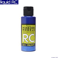 Mission Models MMRC-022 Pearl Blue Water-Based Rc Airbrush Paint 2oz