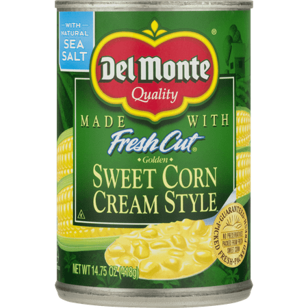 (6 Pack) Del Monte Fresh Cut Sweet Cream Style Corn, 14.75