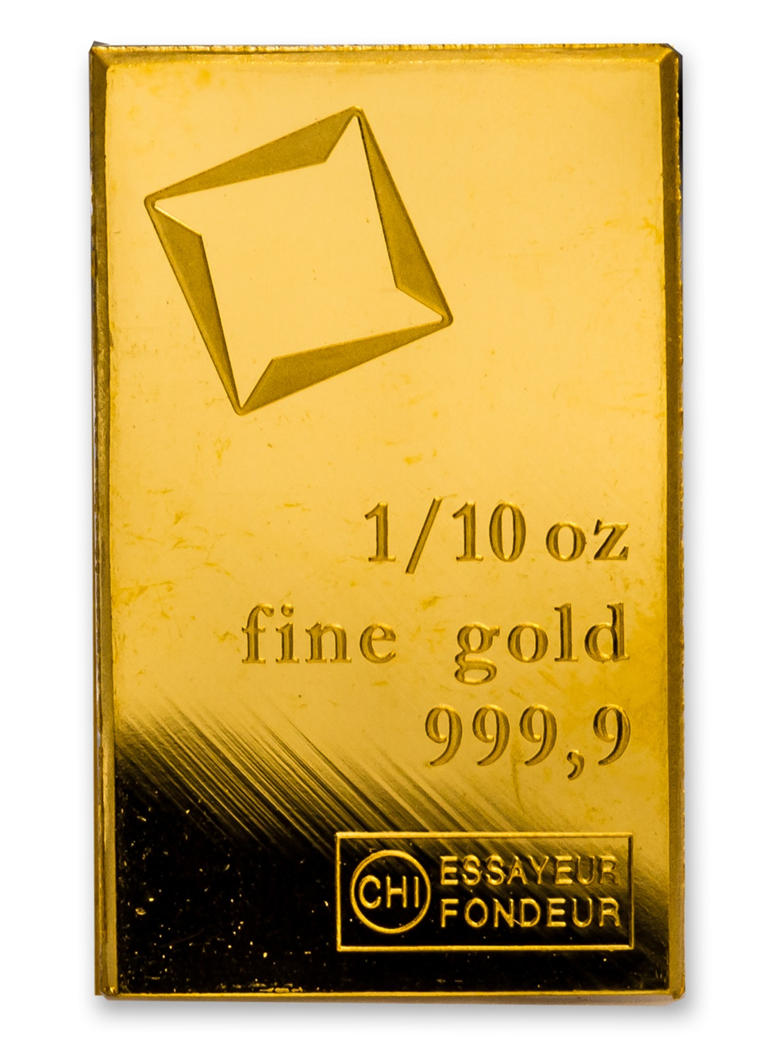 1/10 oz Gold Bar - Secondary Market