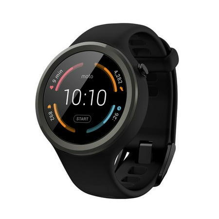 Motorola Moto 360 Sport Smartwatch  Flame