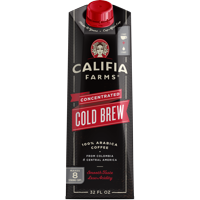 Califia Farms Unsweetened Concentrated Cold Brew Coffee, Black Coffee, 32 oz