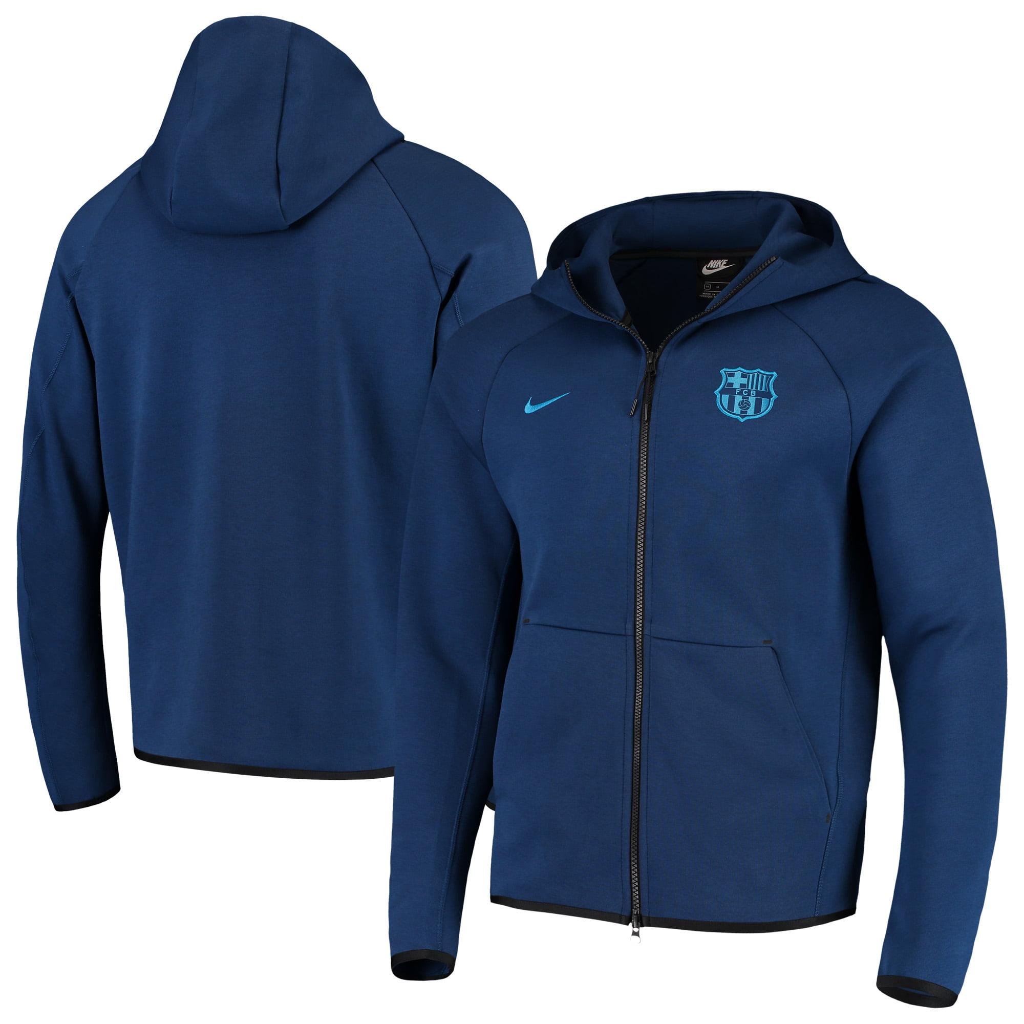 Nike - Barcelona Nike Tech Fleece Full-Zip Hoodie - Navy - Walmart.com 8b85f1181af3