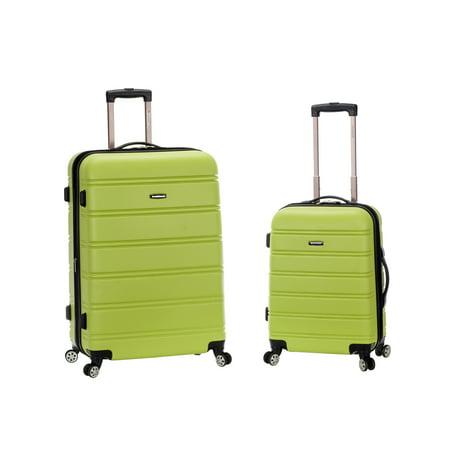 (Melbourne 2 Piece Hardside Spinner Luggage Set)