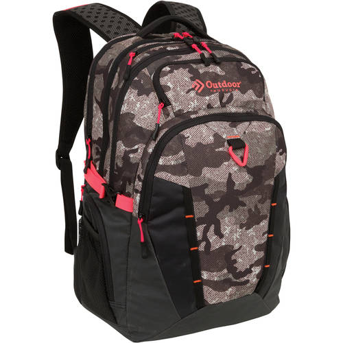 Outdoor Products Gravity Backpack DayPack School Bag, Camouflage