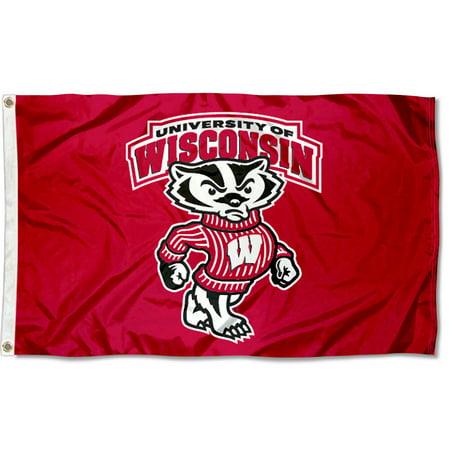 University of Wisconsin Badgers Flag (University Large Flag)