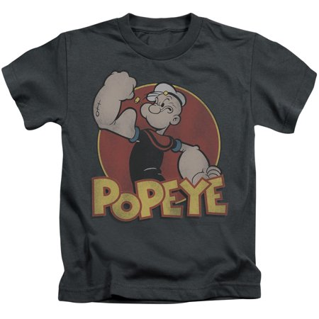 Popeye Retro Ring Little Boys Juvy Shirt - Boys Retro