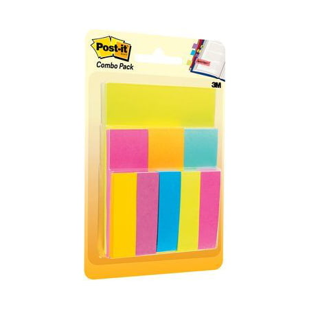 Post-it Notes and Tabs Combo Pack, Assorted Sizes and - Halloween Post It Notes