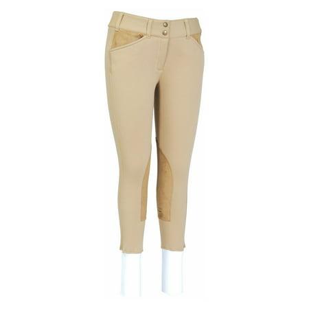 Ladies Unifleece Front Zip Breeches