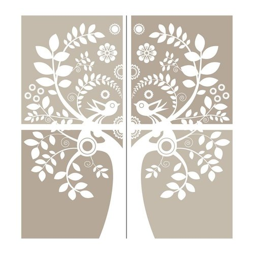 Brewster Home Fashions WPK96844 WallPops!  Love Birds Large Wall Art Kit Wall Decal