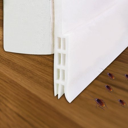 Door Seal, Outgeek Self Adhesive Weatherstrip Door Bottom Seal Strip Door Draft Stopper for Home Soft Seal Weatherstrip