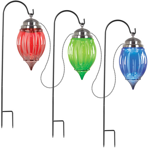 7.5' Pathway Stakes Lighted Ornament, Set of 3