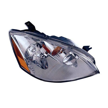 Replacement Passenger Side Headlight For 02-04 Nissan Altima NI2503142