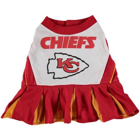 quality design 78aaf 29dbf Kansas City Chiefs Cheerleader Pet Outfit - XS