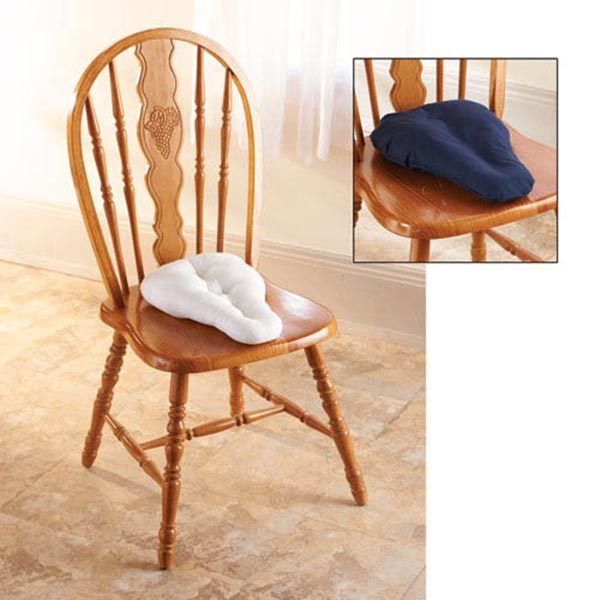 Sciatica Saddle Pillow Seat Cushion Wedge With 2 Pillow