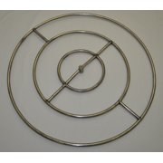 36 Inch High Capacity Round Stainless Steel Gas Fire Pit Burner Ring