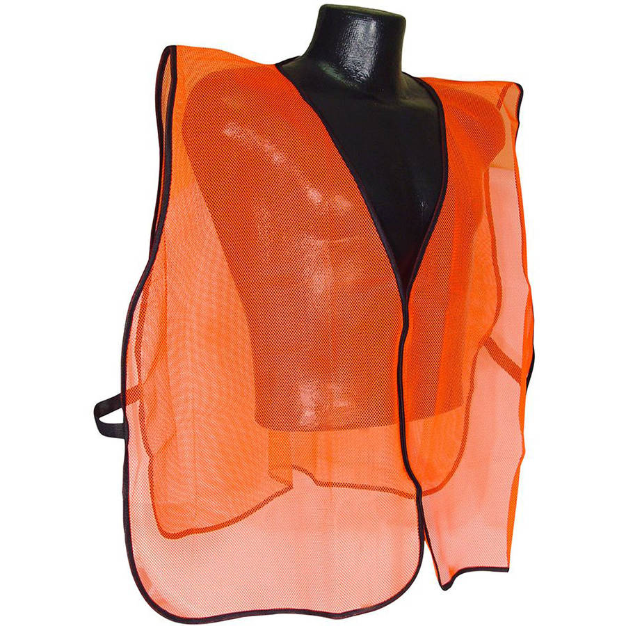 Radians Orange Mesh Safety Set Hunting Vest, Orange, One Size Fits All, Mesh Net