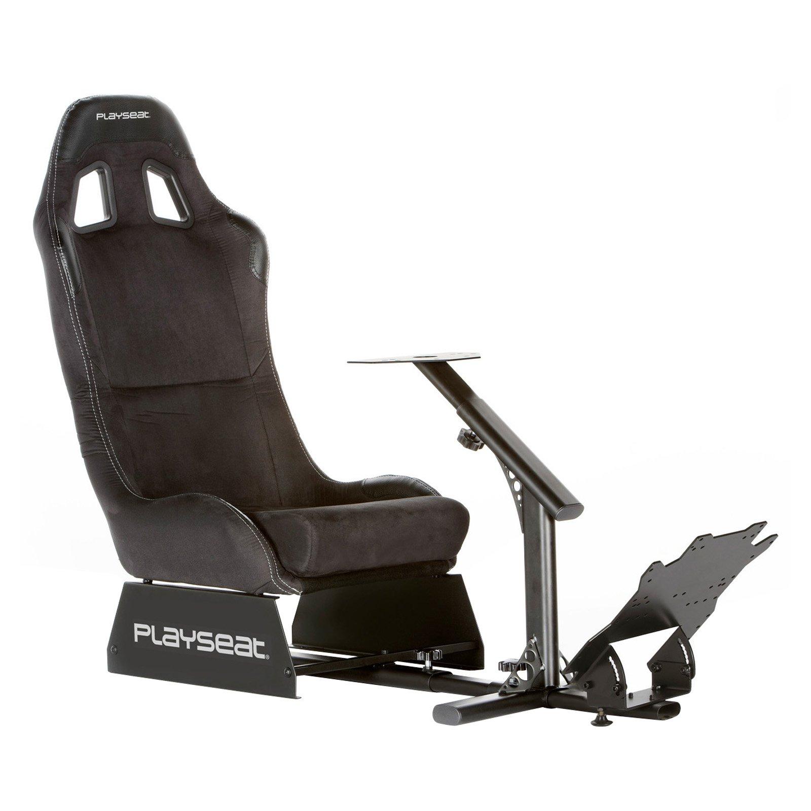 Playseat Evolution Gaming Chair - Black Alcantara with Black Frame