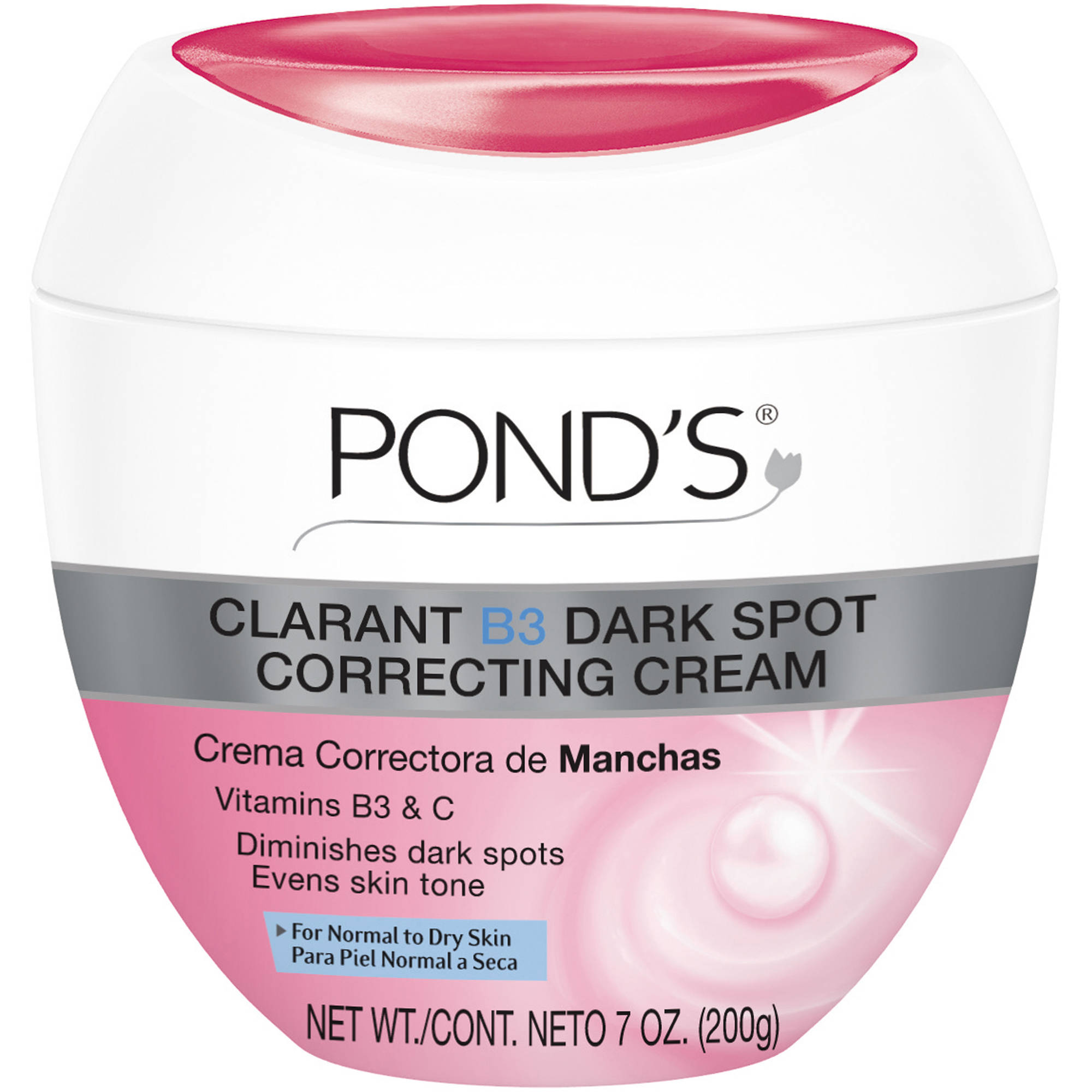 Pond's Clarant B3 Dark Spot Normal to Dry Skin Correcting Cream, 7 fl oz