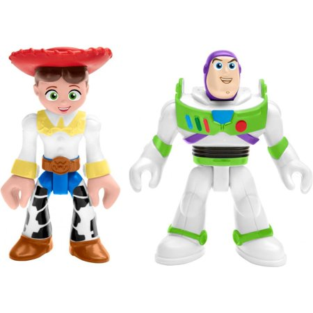Imaginext Disney Pixar Toy Story Buzz & Jessie Character Figures](Female Disney Characters)