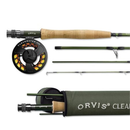 5wt Rods (Orvis Clearwater Fly Rod Outfit 905-4 - 5wt 9ft 0in)