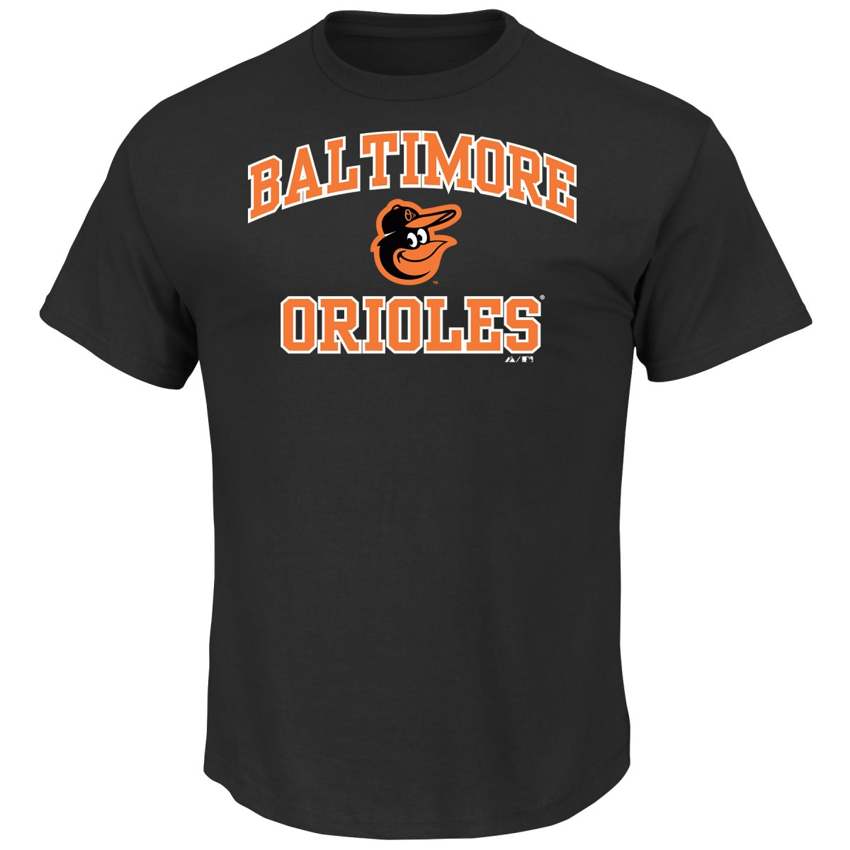"Baltimore Orioles Majestic MLB ""Heart & Soul"" Men's Short Sleeve T-Shirt"