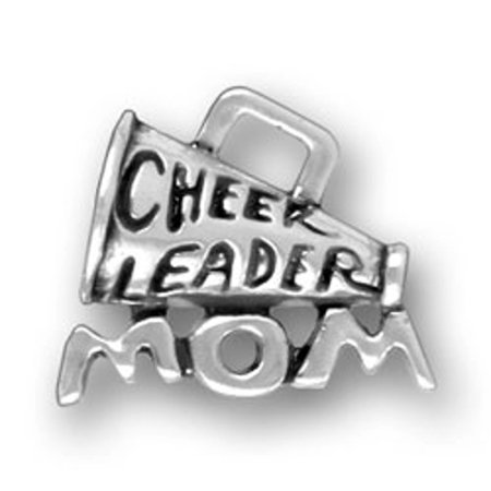 Sports Mom Charm - Sterling Silver 7