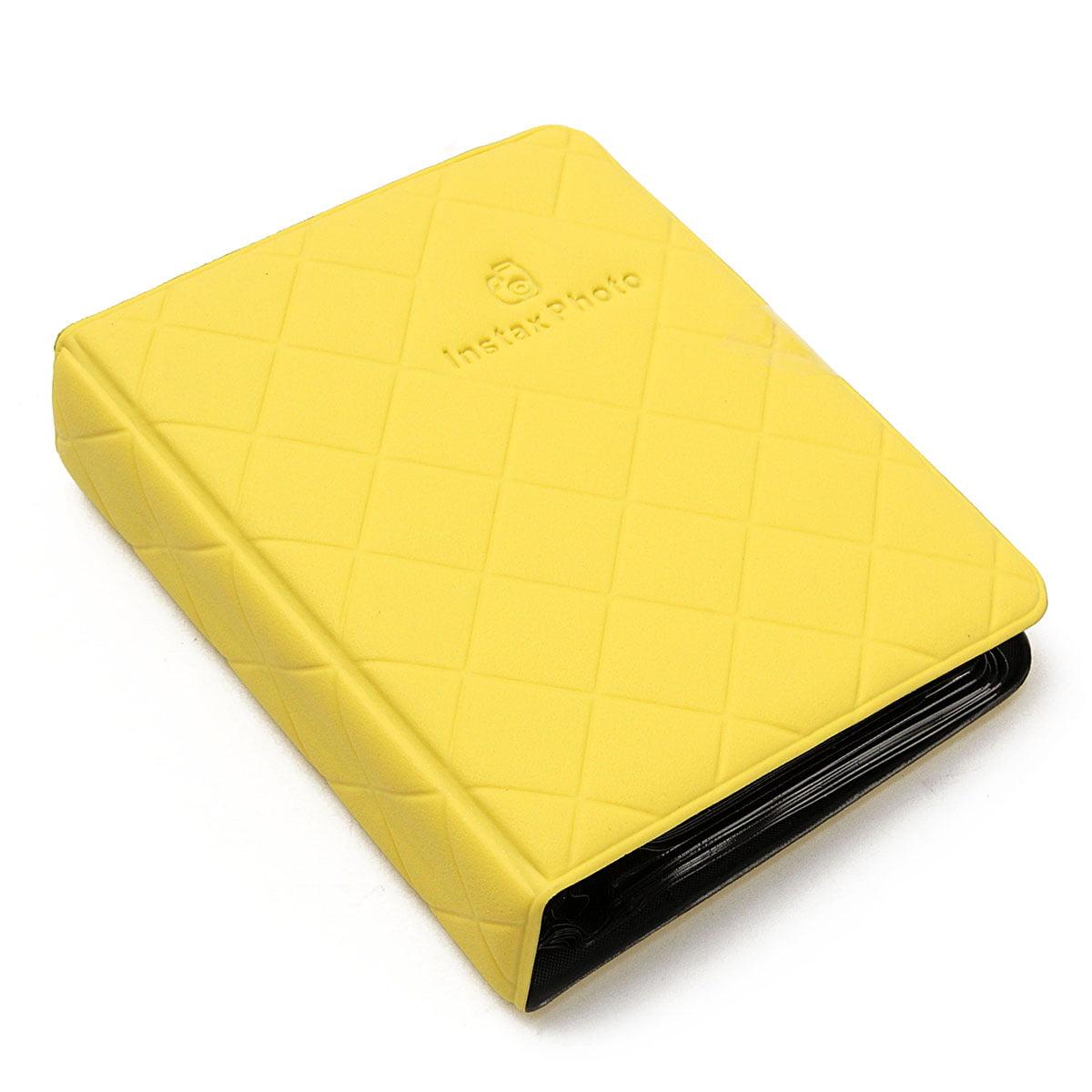 Wedlies 36 Pockets Mini Photo Album Case Storage Personalized Photo