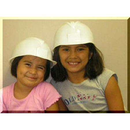 childrens hard hats white - Childrens Hard Hat