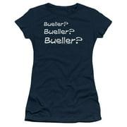 Ferris Bueller's Day Off Bueller? Juniors Short Sleeve Shirt